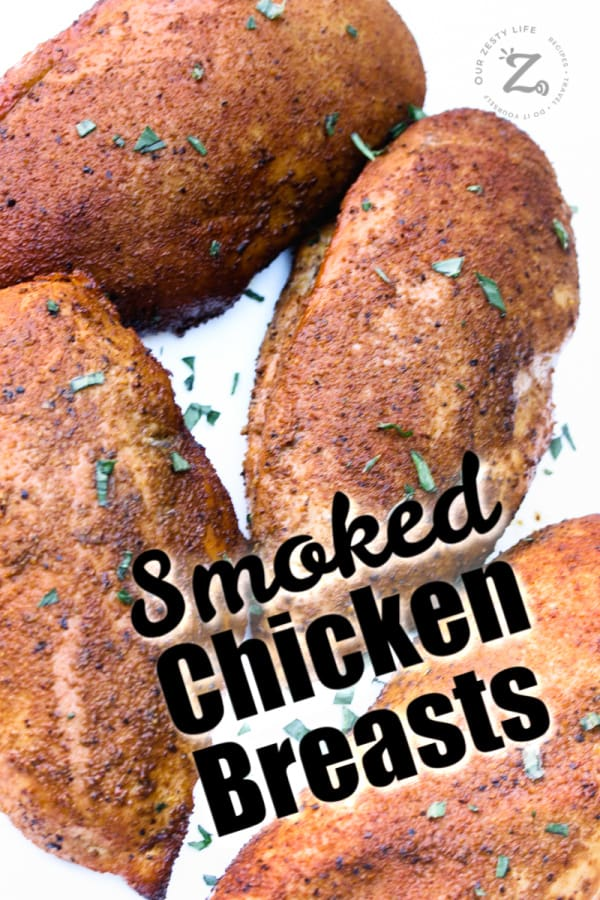 4 smoked chicken breasts