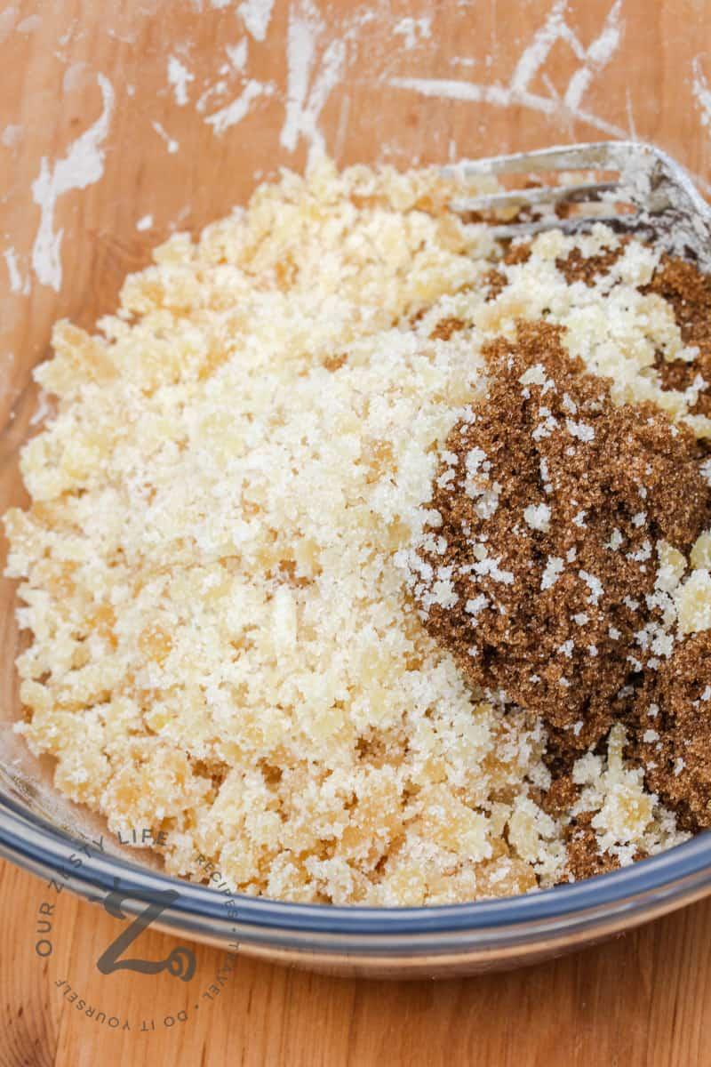 ingredients to make Ginger Rhubarb Pie