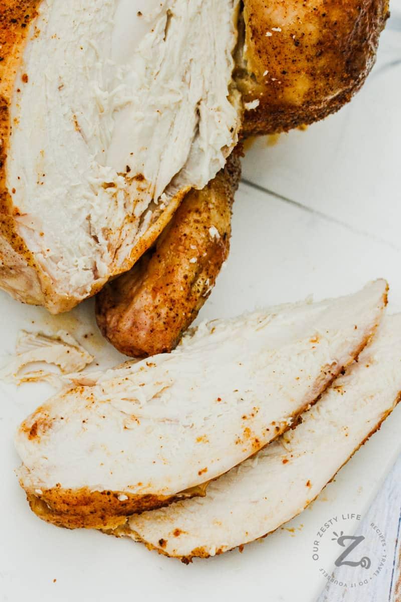 slices of Rotisserie Chicken