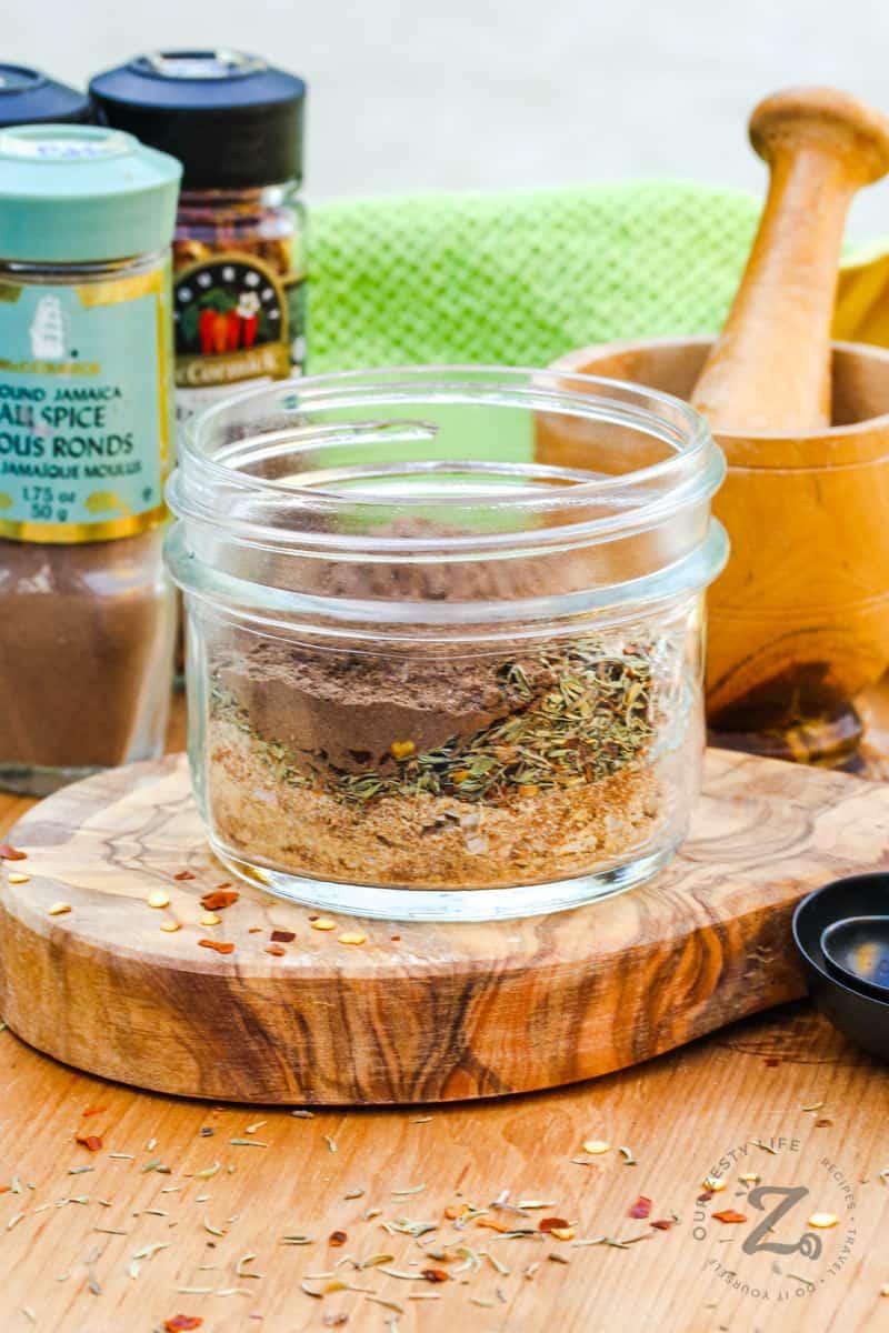 ingredients to make Jerk Seasoning Recipe