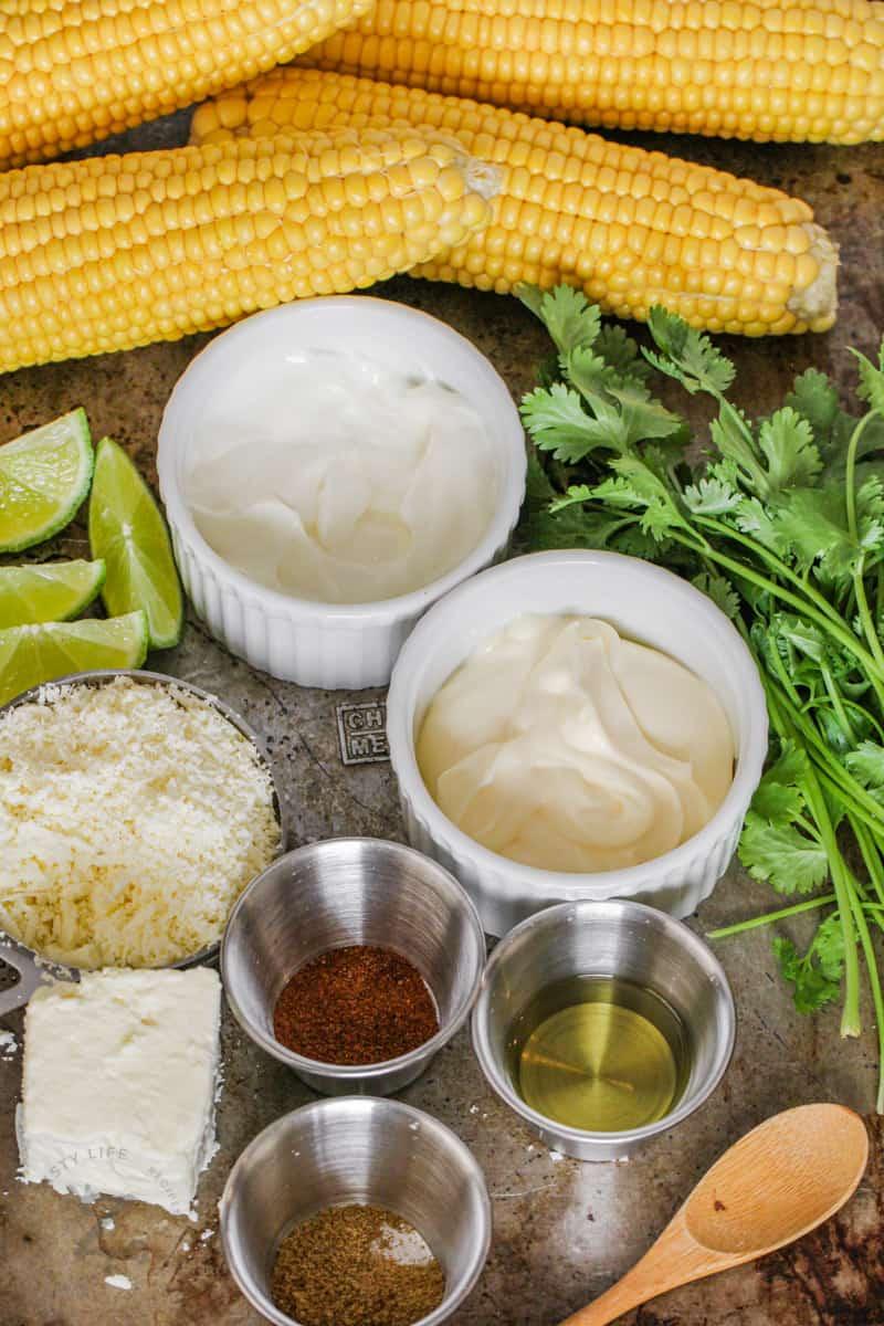 Mexican Street Corn ingredients